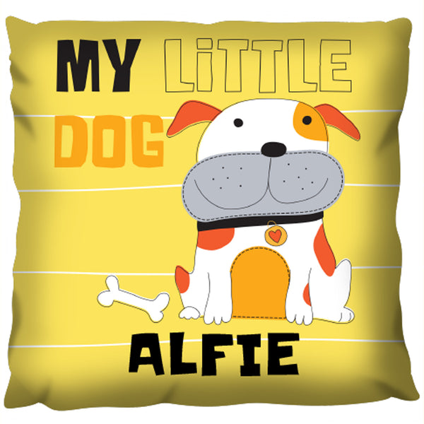 My Little Dog  - Personalized Pillow