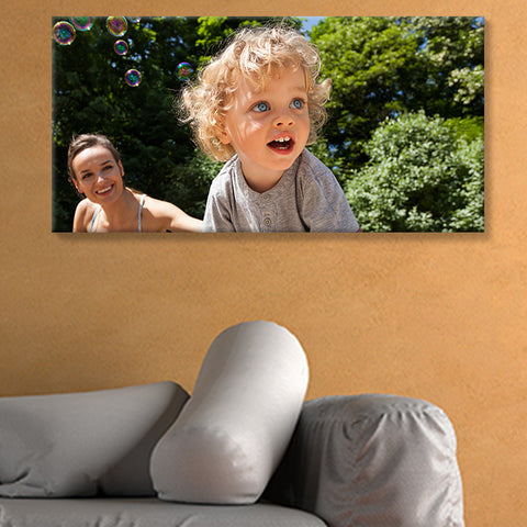 Canvas Stretched Photo Upload