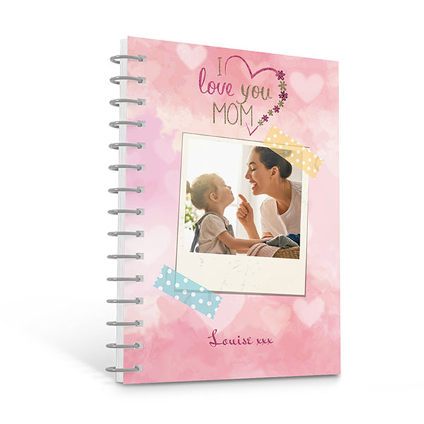 Love Mom Photo - Personalised A4 Notepad | Printzware