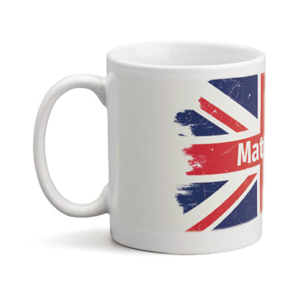 Union Jack  - Personalized Mug