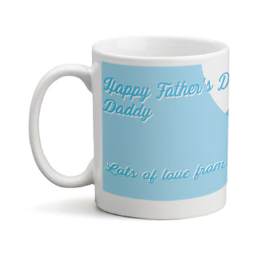 Fathers Day Shirt and Tie  - Personalized Mug