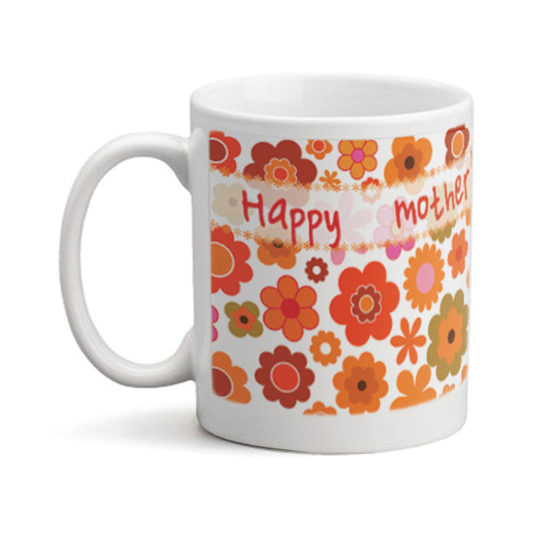 Mothers Day Flowers  - Personalized Mug