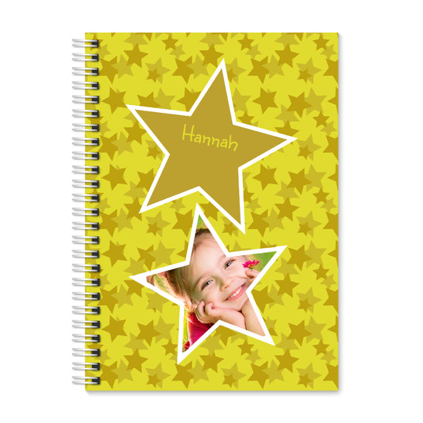 Gold Star Photo - Personalized A4 Notepad | Printzware