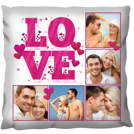 Love Photos - Personalised Cushion