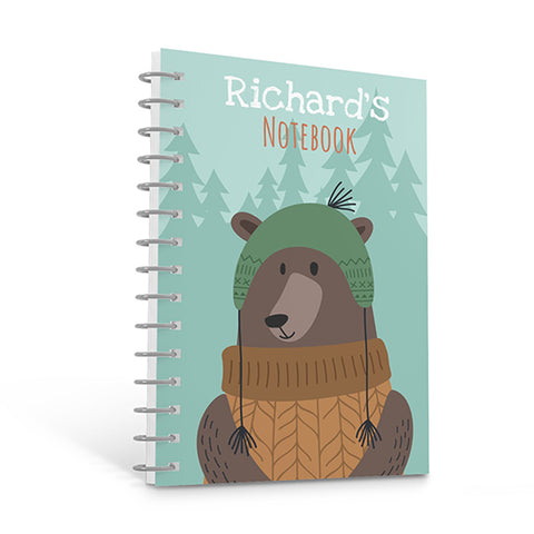 Forest Bear - Personalized A4 Notepad | Printzware
