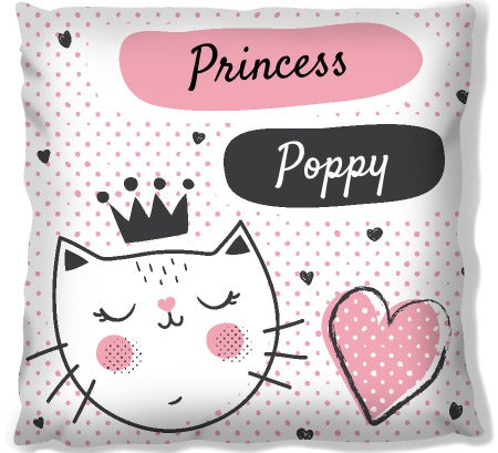 Princess Cat - Personalised Pet Bed | Printzware