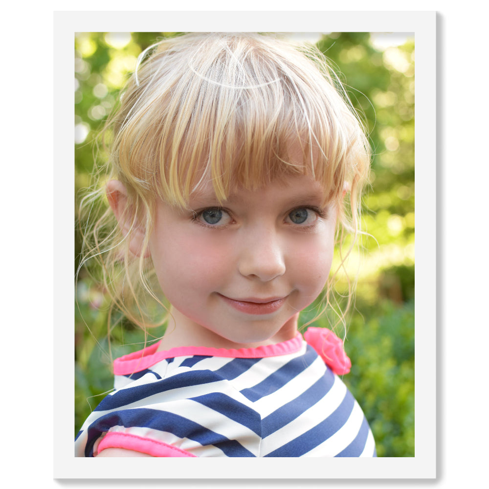 Personalised Photo Upload - White Framed Print | Printzware
