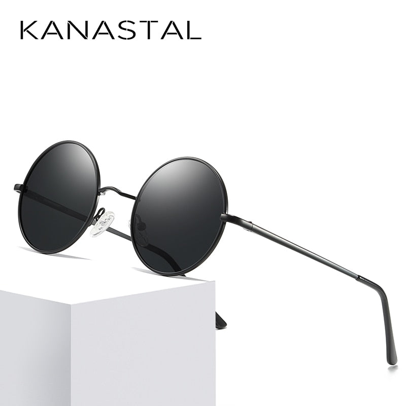 KANASTAL Metal Steampunk Sunglasses