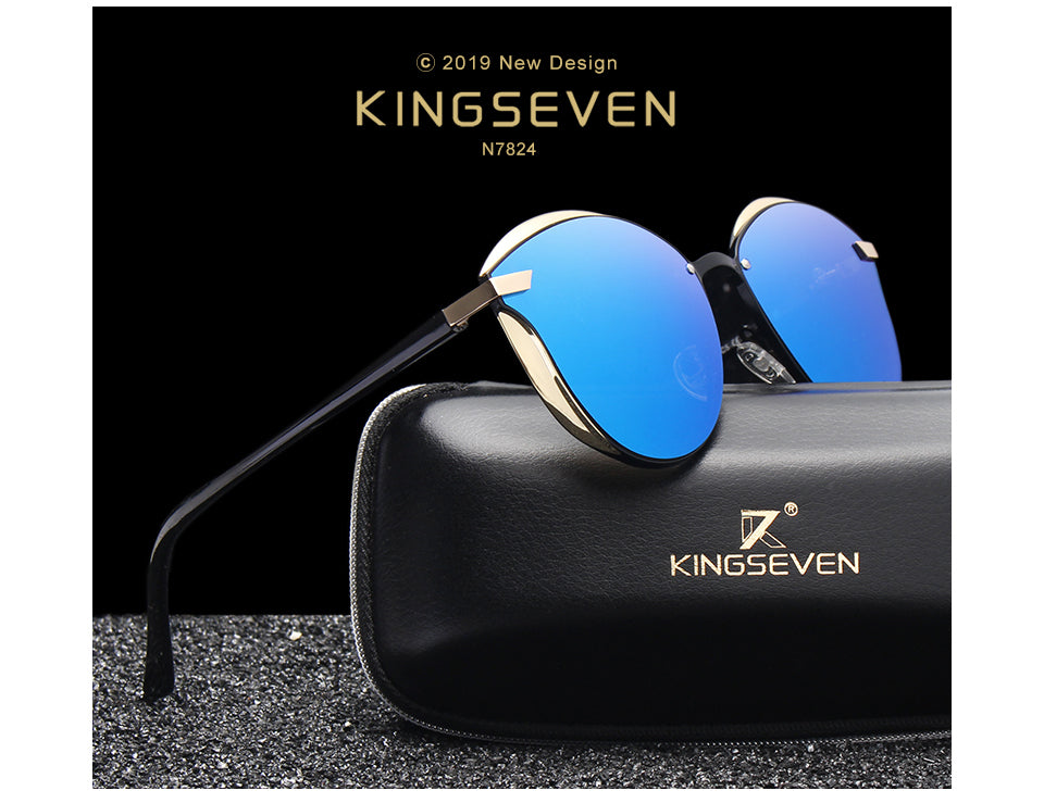 KINGSEVEN Cat Eye Women Sunglasses