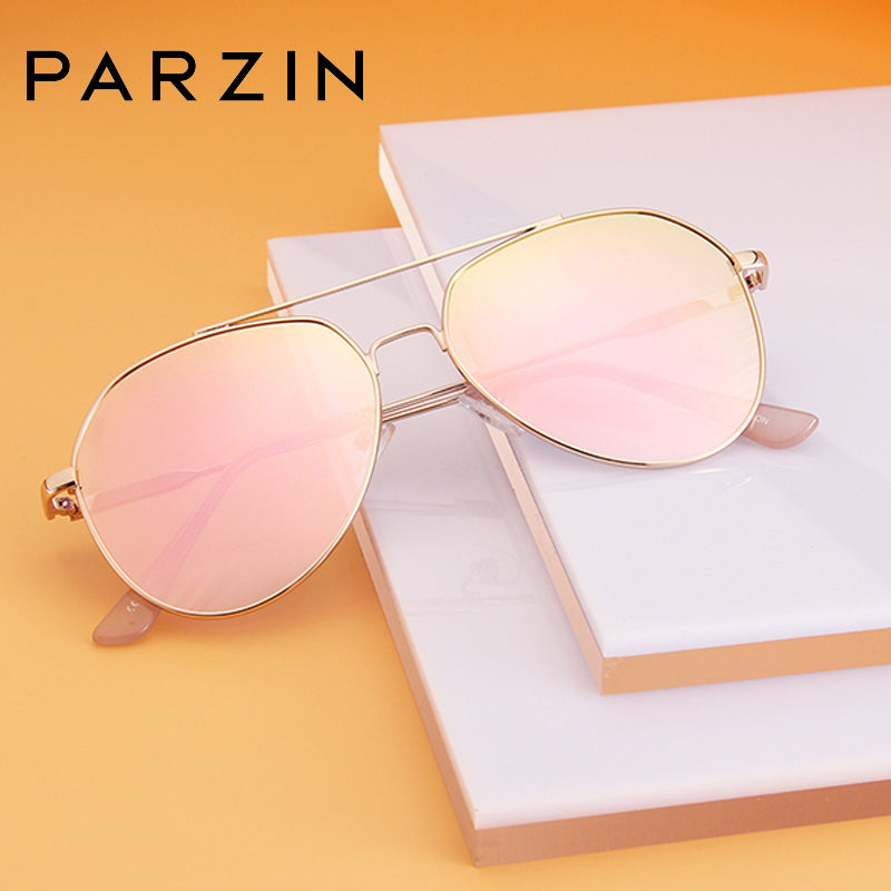 PARZIN New Pilot Sunglasses for Her