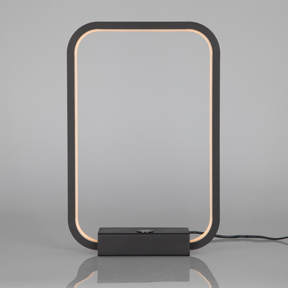 Lamplo Modern Square LED Table Lamp