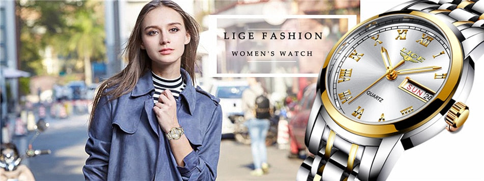 LIGE 2020 New Collection Watch for Her
