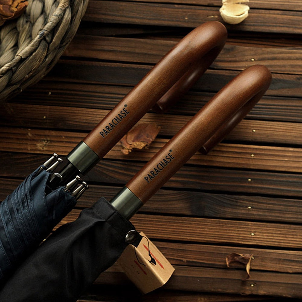 New Arrival Wooden Umbrella