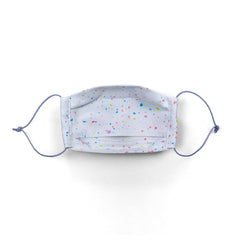 3 Pack Cotton Face Masks - Confetti Party - HanukDesign
