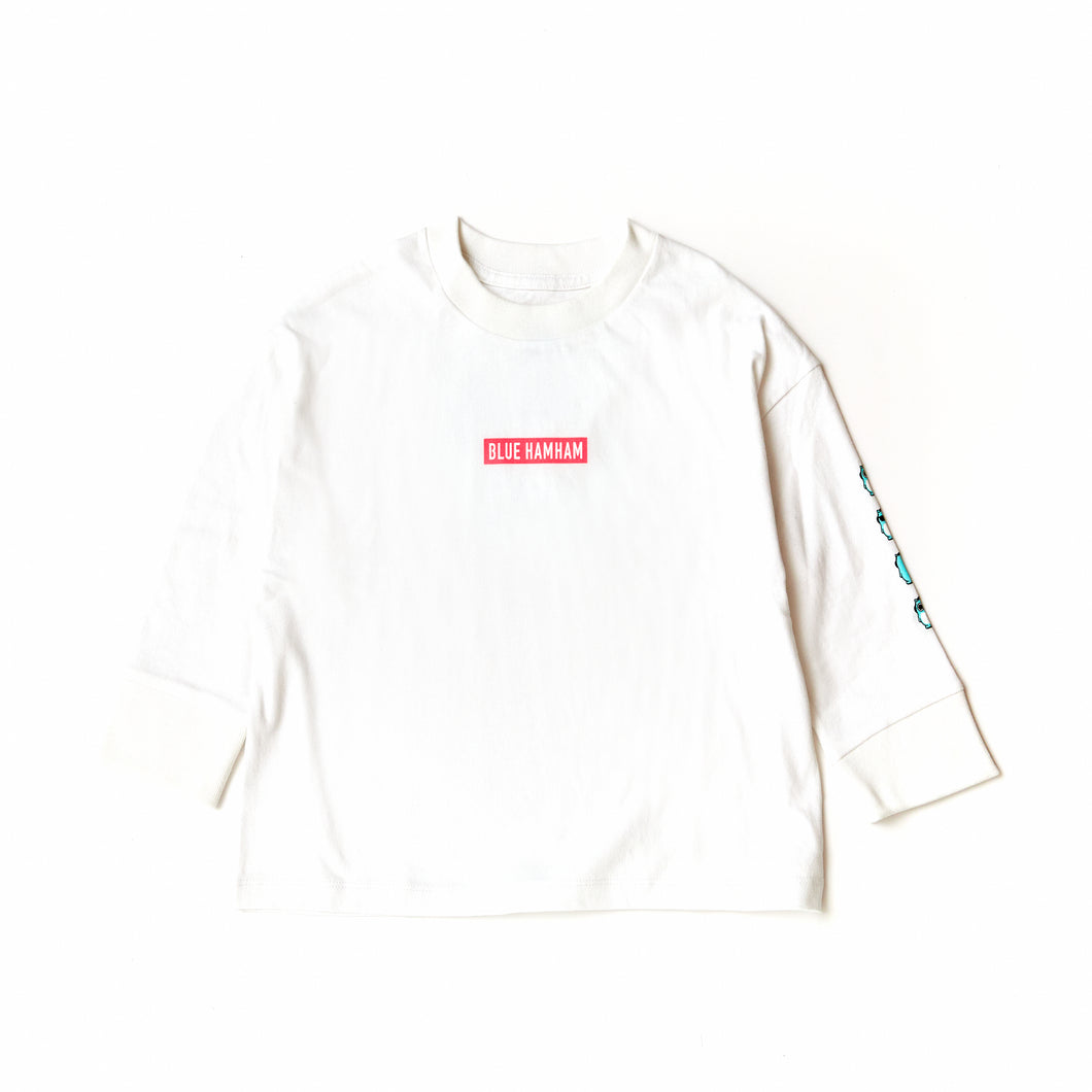 KIDS-BOX LOGO Long-Sleeve TEE