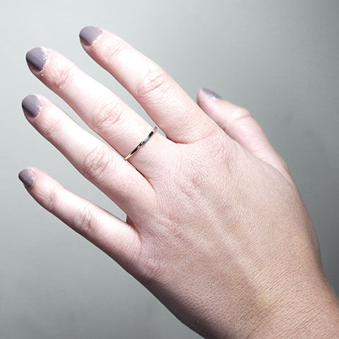 Silver and Gold Contrast Ring
