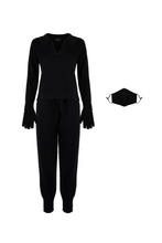 Load image into Gallery viewer, ECO: Black Collared Set