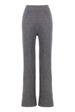 Load image into Gallery viewer, Grey Knitted Pants