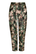 Load image into Gallery viewer, Camo High Waisted Tapered Pants