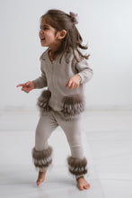 Load image into Gallery viewer, Little IA: Grey Trim Pants