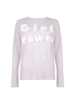 Load image into Gallery viewer, Lilac Girl Power Sweater