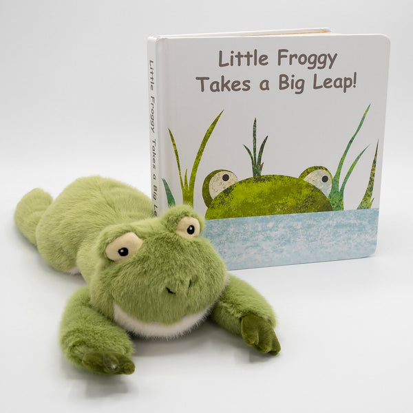 Little Froggy Plushy & Book
