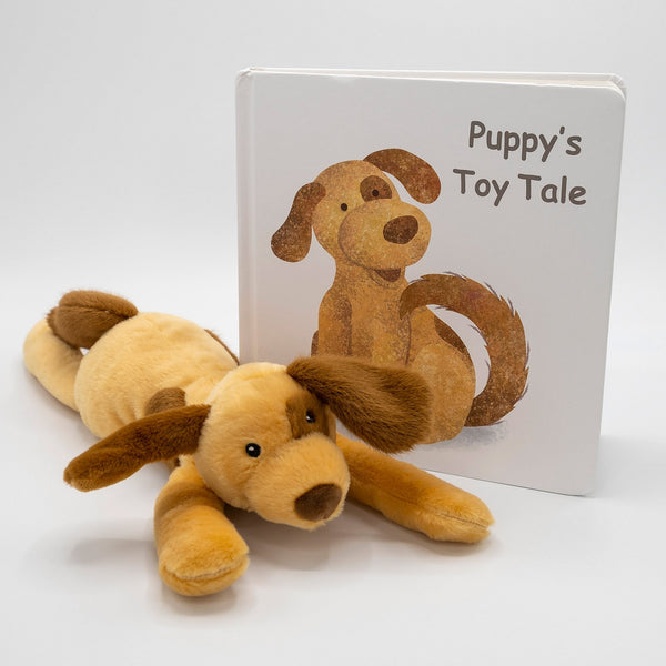 Puppy Plushy & Book