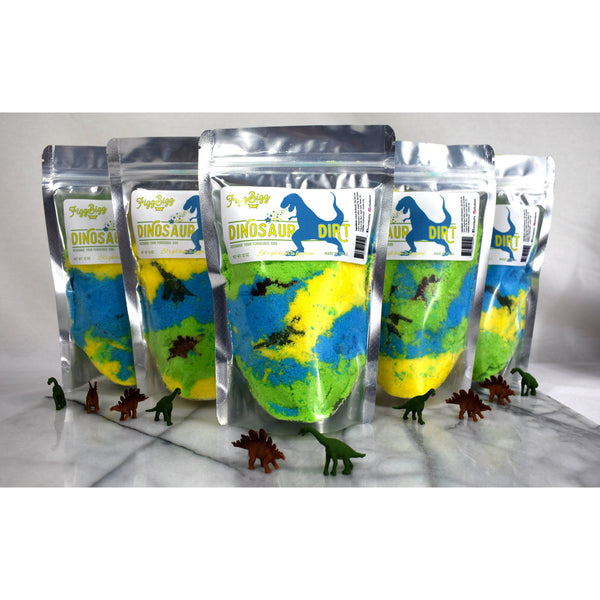 Fizzy Dinosaur Dirt Bath Salts