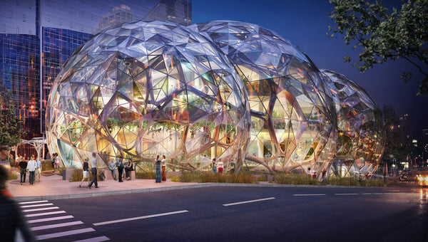 Amazon's Headquarters Includes a Large Bio-Sphere