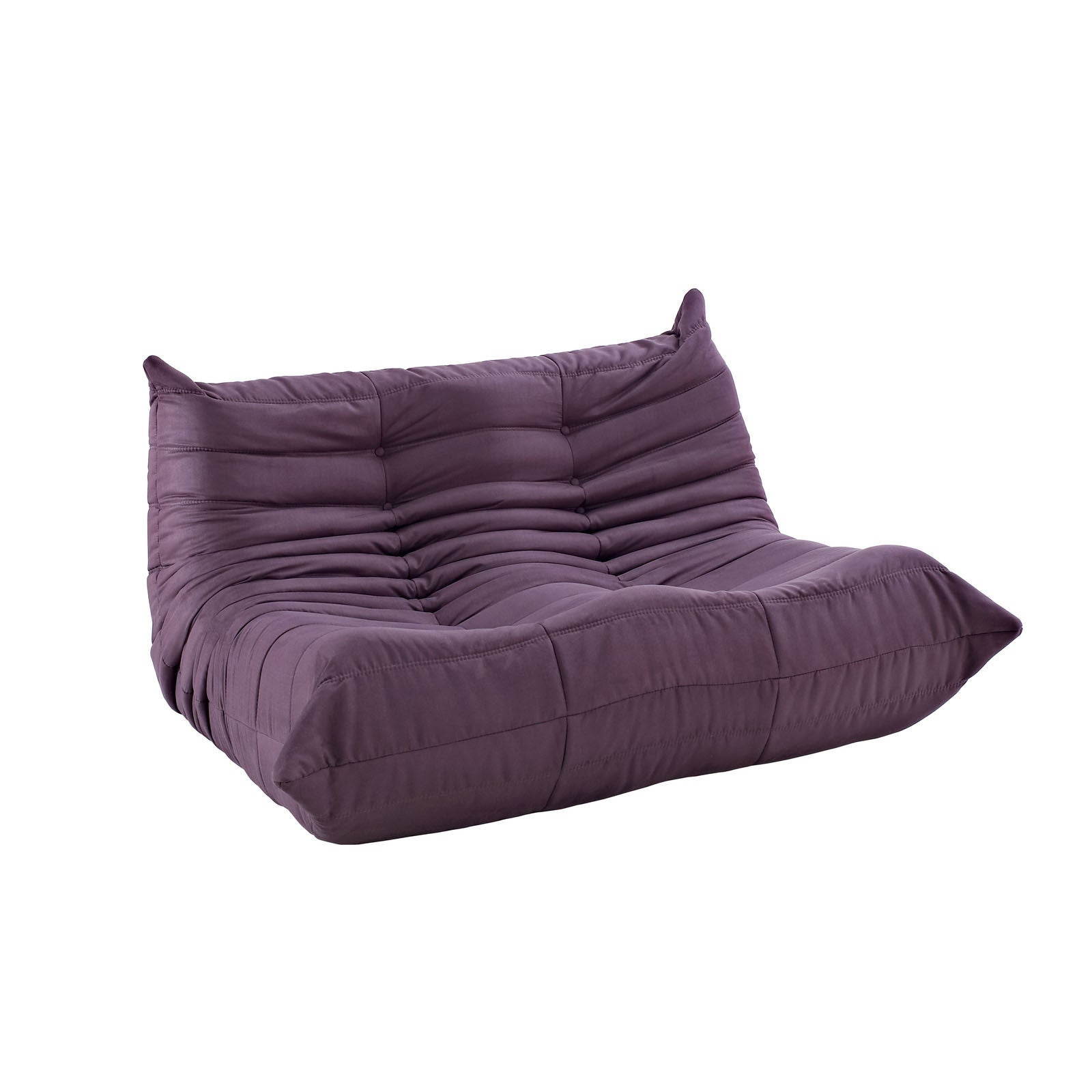 Modular Pillow Loveseat Purple