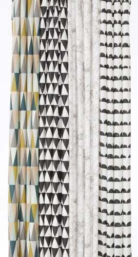 Half Moon Shower Curtain Bath Ferm Designs Art Urbane