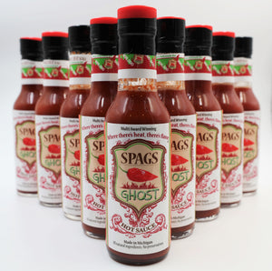 Spags Ghost Hot Sauce 12-Pack