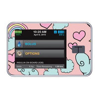 t:slim X2 skin - RAINBOW CLOUDS