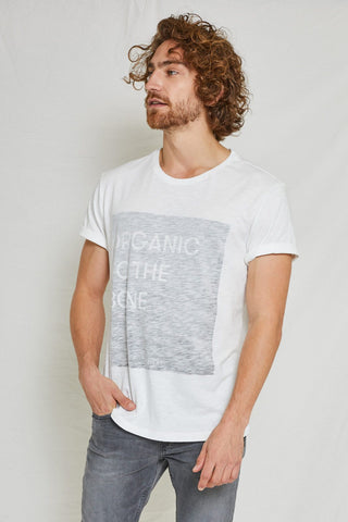 T-shirt 100% Cotone Organico GOTS - Bone - Caminròli Ethical Fashion