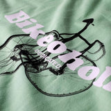 T-shirt 100% Cotone Biologico GOTS - Bikeoholic - Caminròli Ethical Fashion