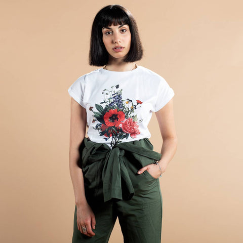 Organic Cotton T-shirt do not - Caminròli Ethical Fashion