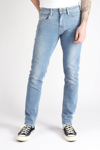 Jeans Skinny 100% Cotone Biologico GOTS - In the Sky - Caminròli Ethical Fashion