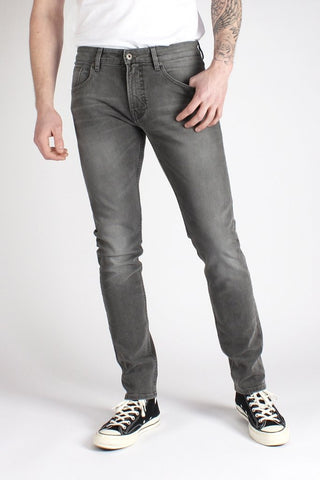 Jeans Skinny 100% Cotone Biologico GOTS - Rabel Grey - Caminròli Ethical Fashion