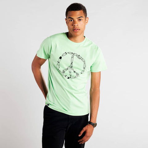 Organic Cotton T-shirt Peace - Caminròli Ethical Fashion