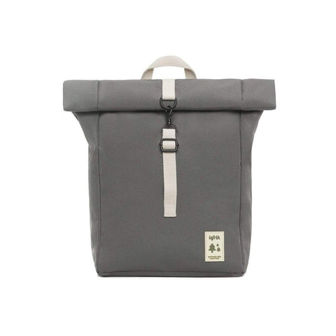 Zaino Mini Roll - Grey - Caminròli Ethical Fashion