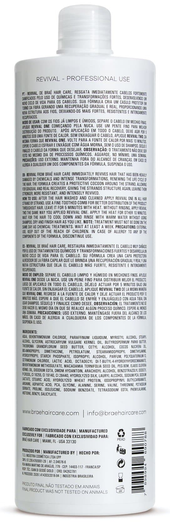Revival ONE Intensive Reconstructor 33.8 fl. oz
