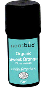 Organic Sweet Orange (Citrus sinesis)