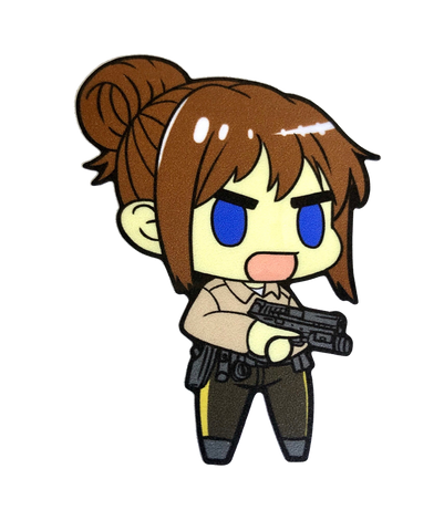 Leo chibi sticker