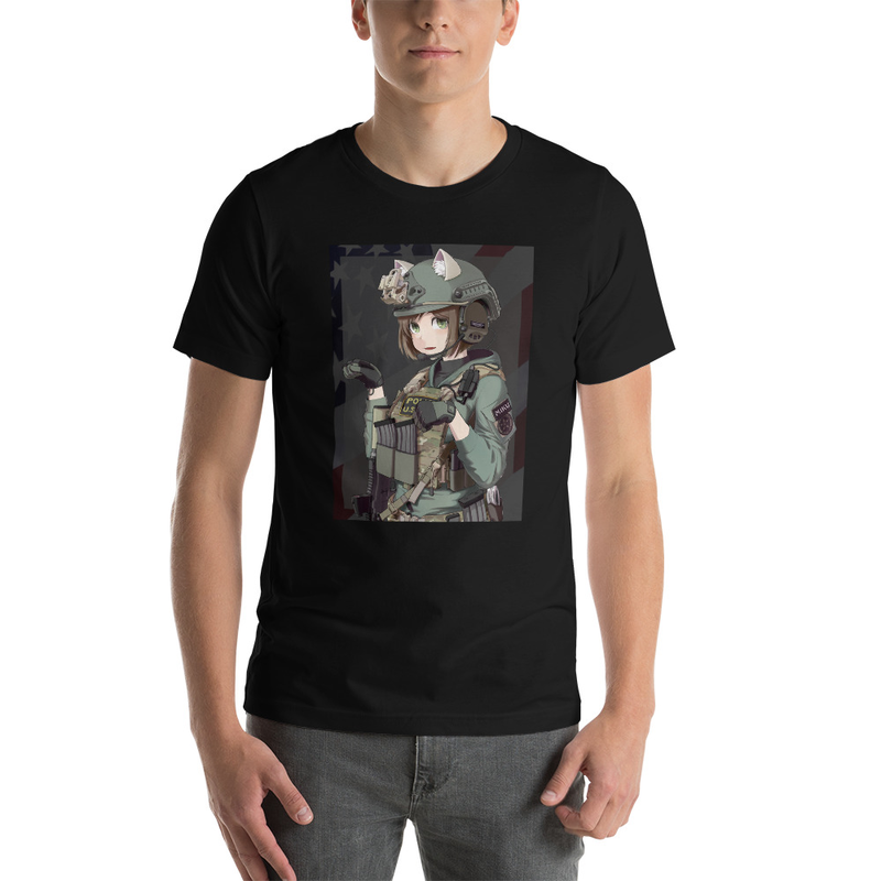 miku marshal t-shirt