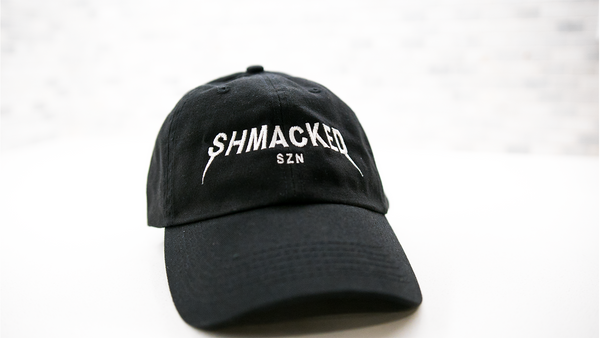 SHMACKED SZN DAD CAP [BLACK]