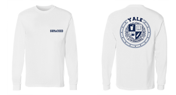 Shmacked Blue&Grey Long Sleeve