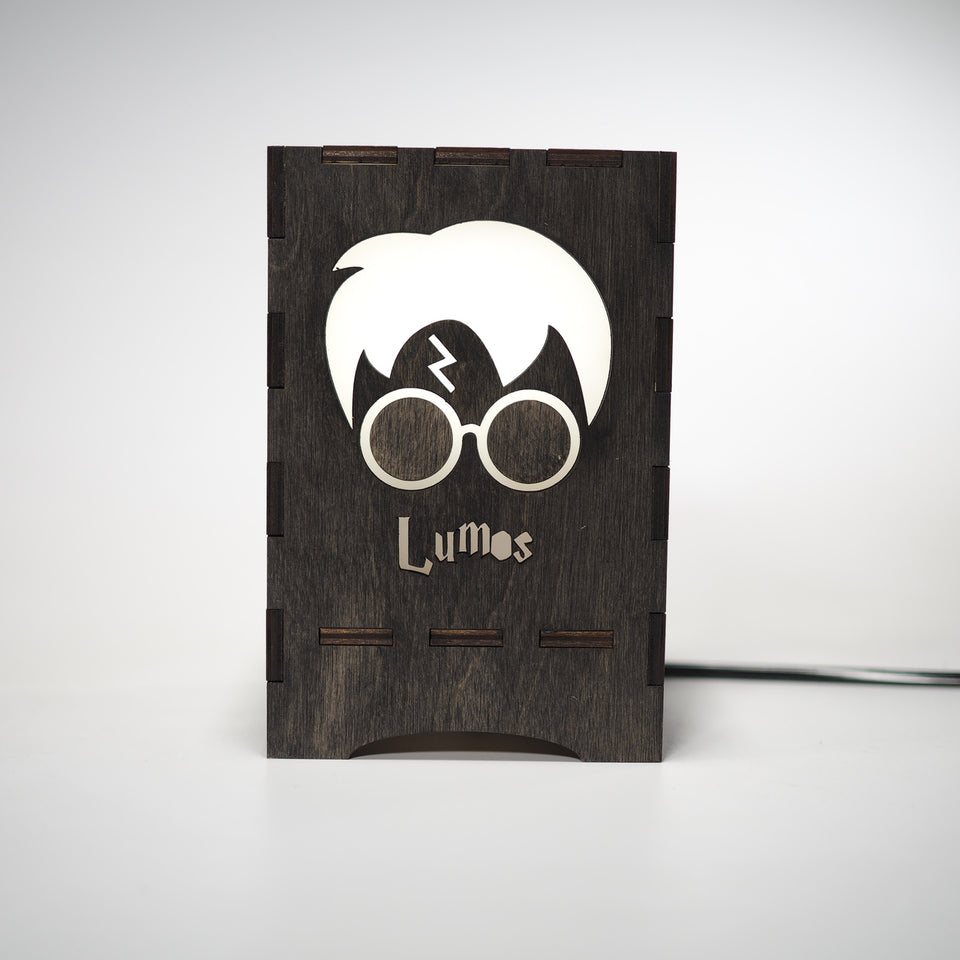 Harry Potter Lamp - Lumos  Black
