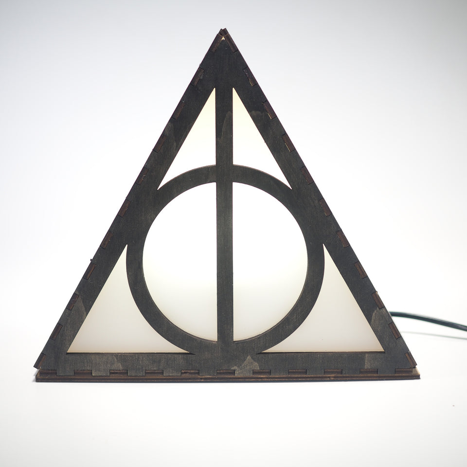 Harry Potter Lamp - Deathly Hallows