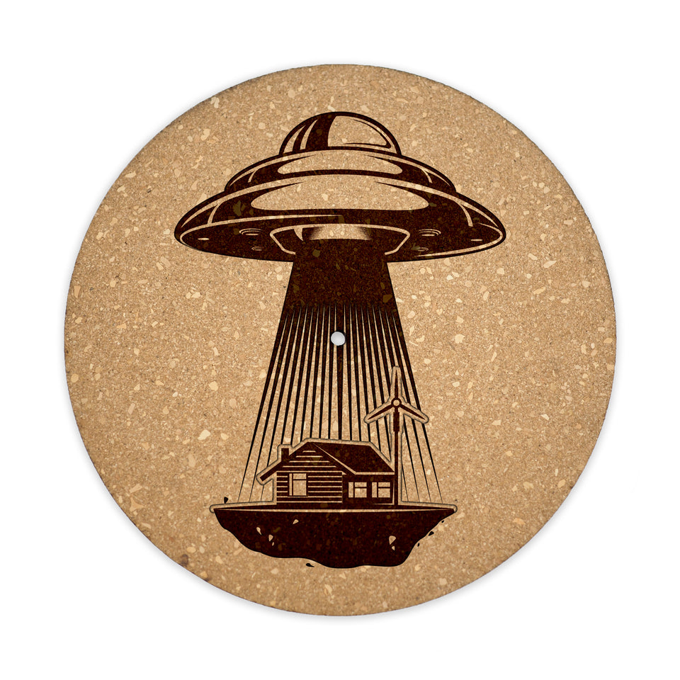 Premium Turntable Slipmat - UFO - 6mm Thick Cork Mat