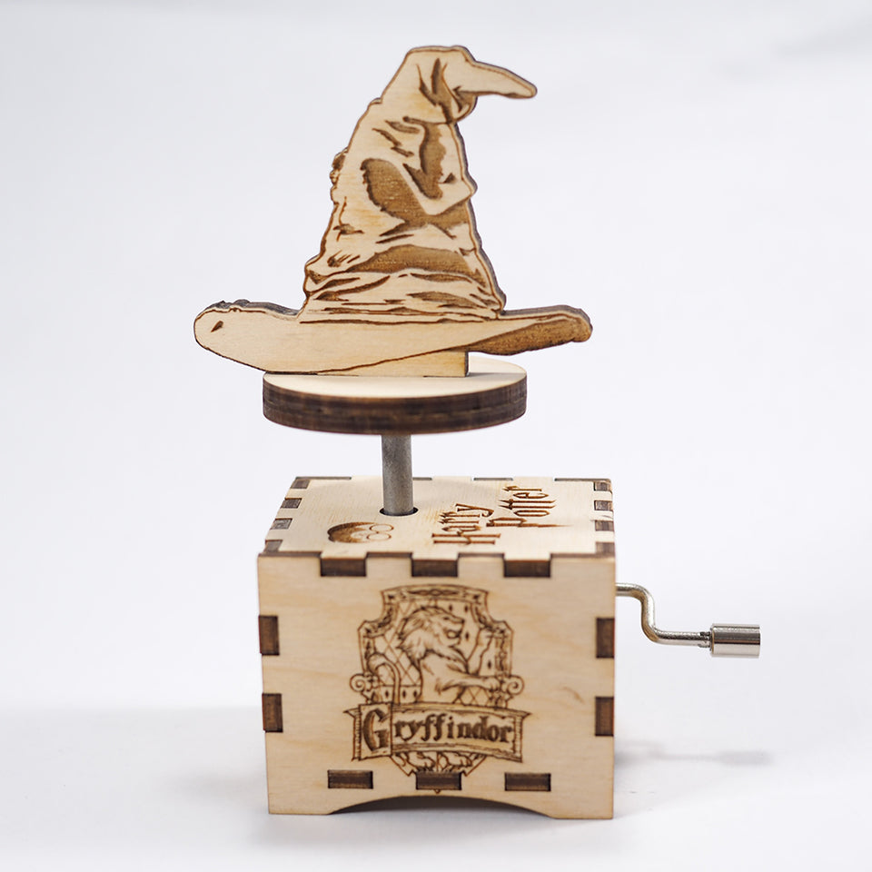 Harry Potter Sorting Hat Music Box - Main Theme .